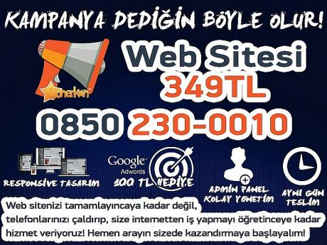 Web Tasarım 349 TL